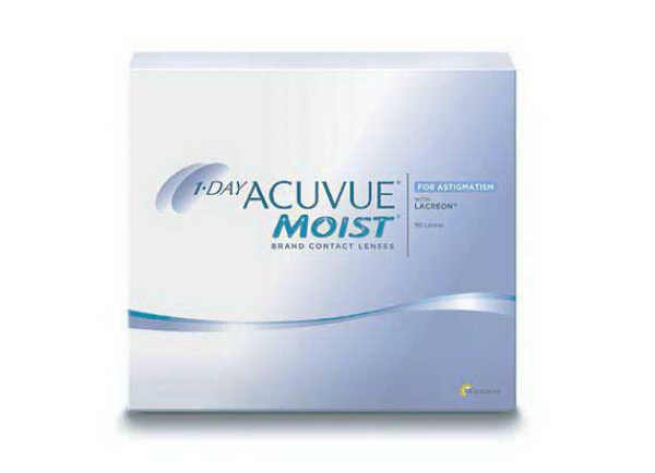 1-Day-Acuvue moist toric 90 Stck. for Astigmatism