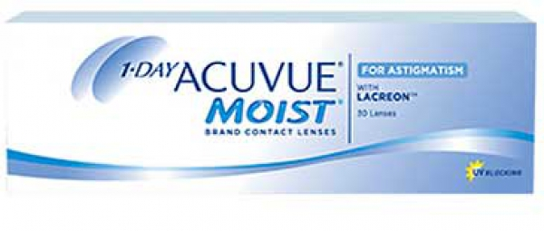 1-Day-Acuvue moist toric 30 Stck. for Astigmatism